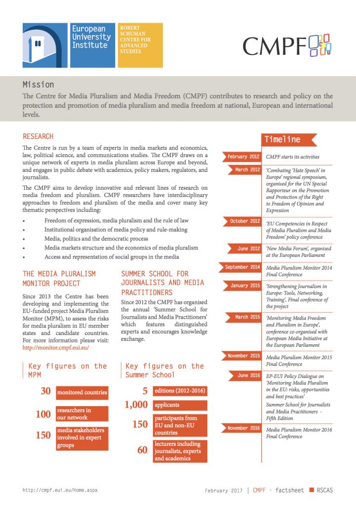 CMPF Fact sheet 2020