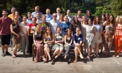Students and CMPF staff at the 2017 Summer School for Journalists