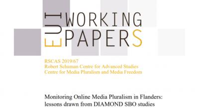 Permalink to:Working Paper: Monitoring online media pluralism in Flanders