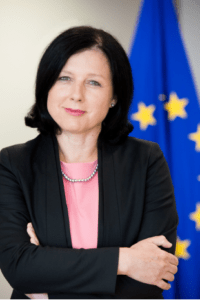 Special Event - European Journalism Facing COVID-19: A dialogue with Věra Jourová @ Online