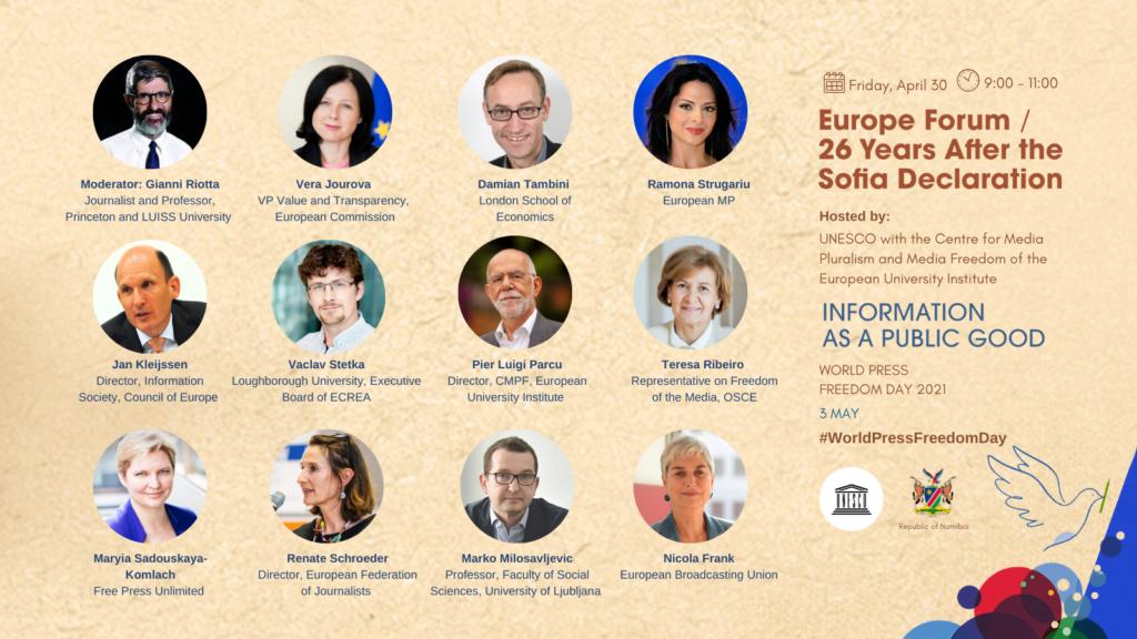 WPFD Europe Forum